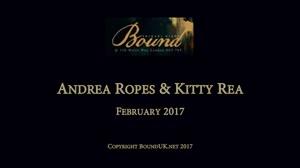 BOUND February 2017: Andrea_Ropes_& Kitty Rea