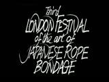 London Festival of the Art of Japanese Rope Bondage